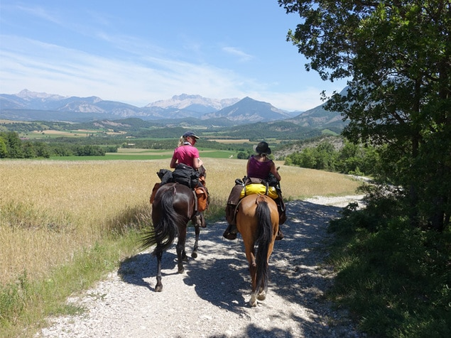 Wanderreiten und Urlaub zu Pferd - Iris Weinig Erlebnisritte